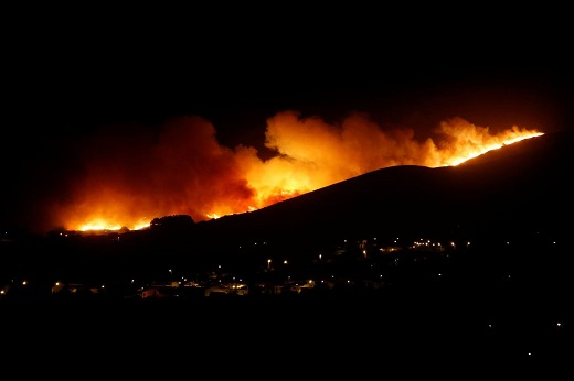 Bồ Đào Nha: Cháy rừng dữ dội khiến 17 nhân viên cứu hỏa bị thương