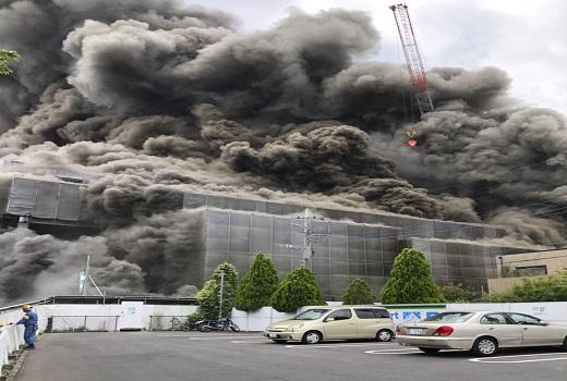 Nhật Bản: Cháy công trình xây dựng làm 45 người thương vong