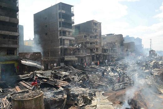 Kenya: Cháy lớn tại khu chợ, 15 người thiệt mạng và 70 người bị thương
