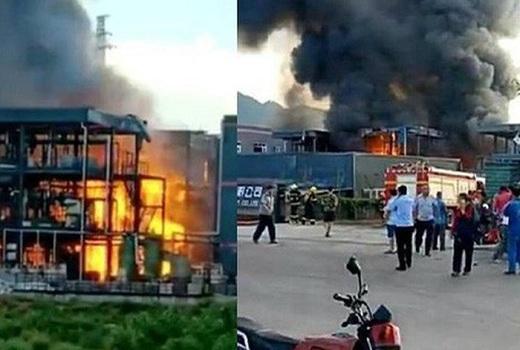 Trung Quốc: Nổ nhà máy hóa chất làm 31 người thương vong