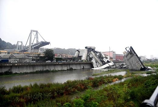 Italia: Thảm họa sập cầu vượt, ít nhất 39 người thiệt mạng