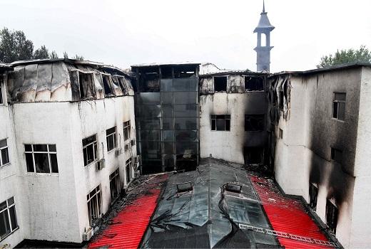 Trung Quốc: Cháy khách sạn du lịch, 20 người chết và 23 người bị thương