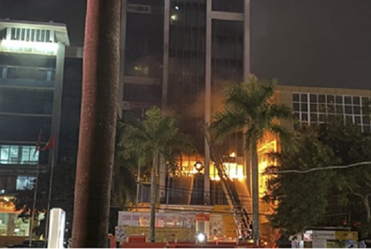 Cháy, nổ nhà cao tầng- kỹ năng thoát nạn cần lưu ý